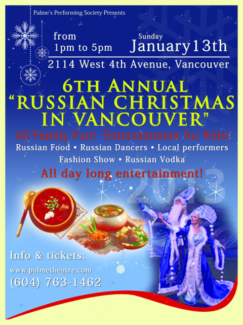 Russian Christmas 2013 – Fair & Concert
